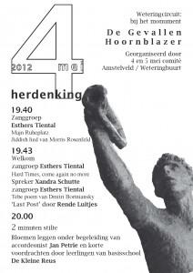 4 mei 2012 herdenking Weteringcircuit